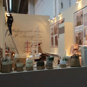 Stand di Christmasworld in allestimento
