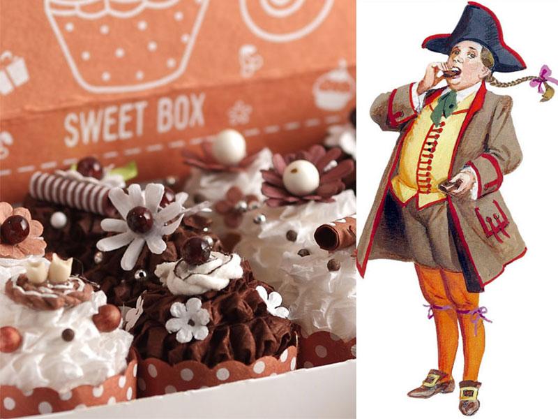 Muffin golosi ispirati a Gianduia