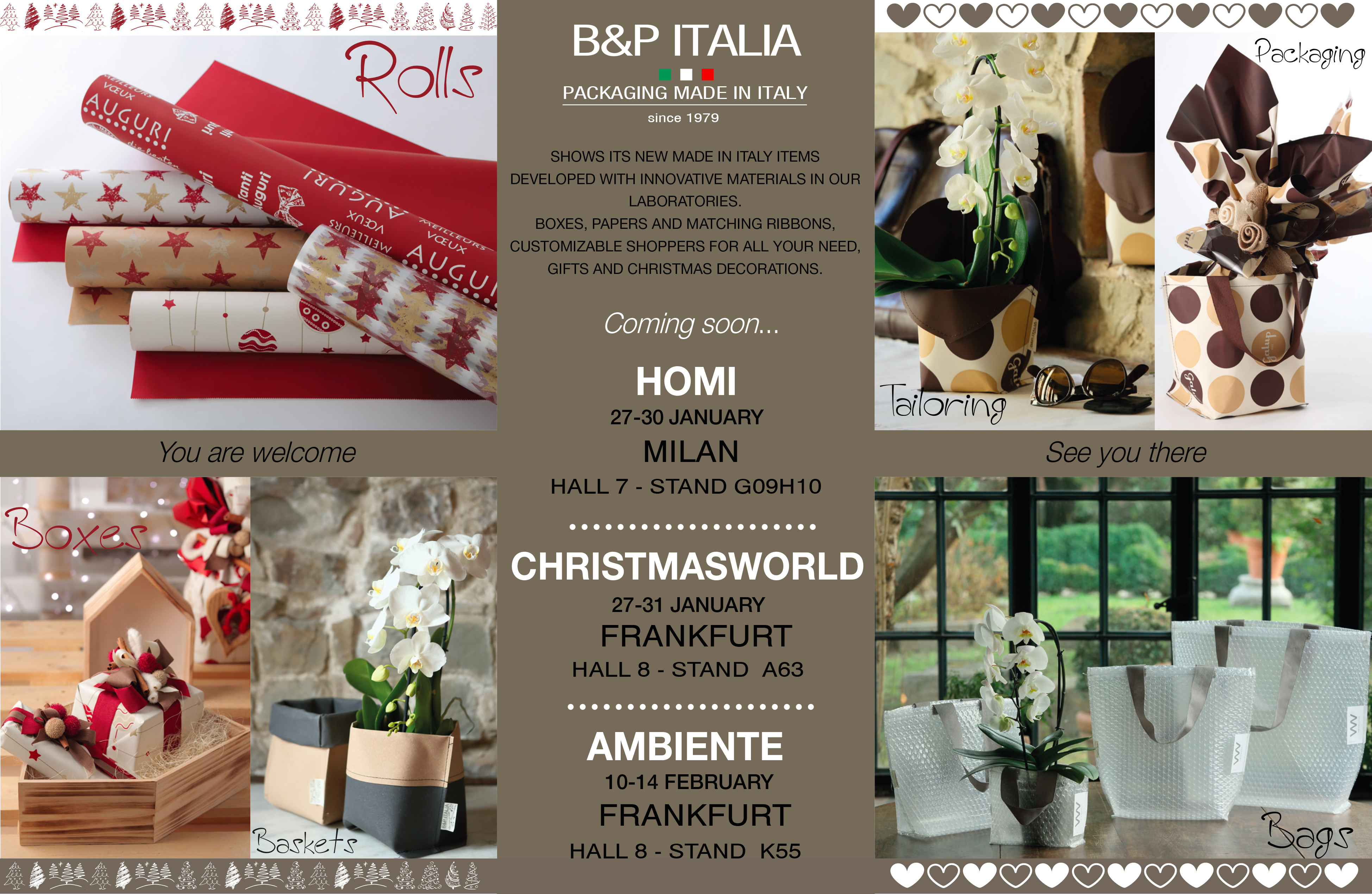 B&P ITALIA - FAIR INVITATION