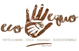 ECO EQUO LOGO MARRONE