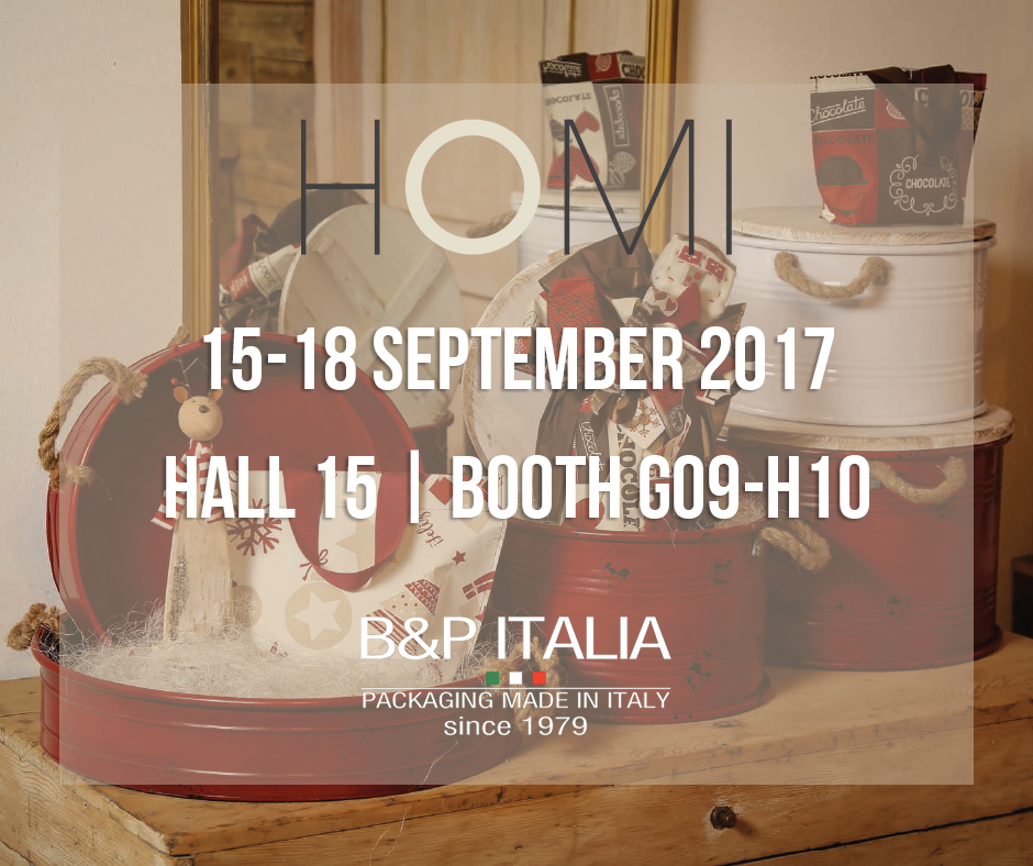 B&P Italia at Homi 2017