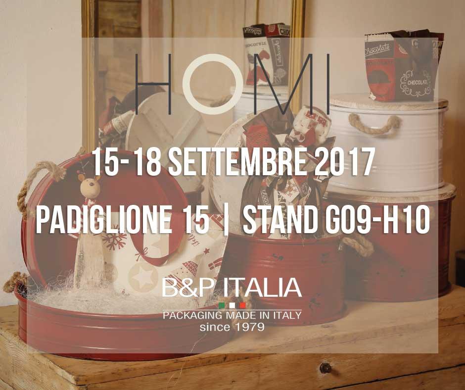 B&P Italia a Homi Milano 2017