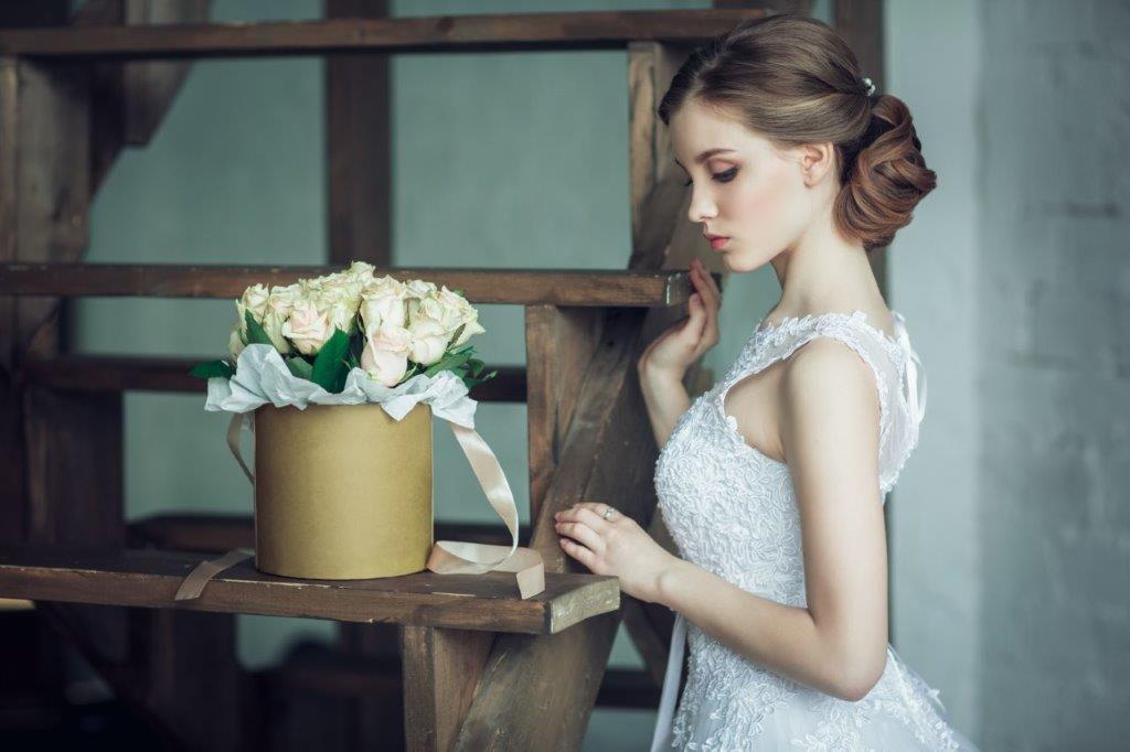 Cappelliere per bouquet da sposa